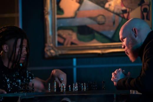 Chess Match - Black Lightning Season 2 Episode 2