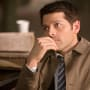Castiel in Deep Thought - Supernatural Season 10 Episode 23