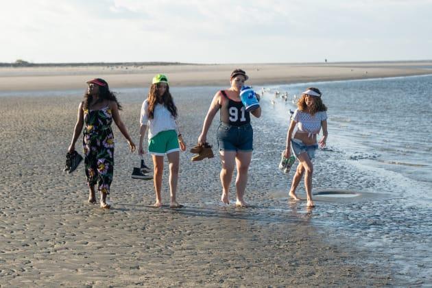 Florida Girls on the Beach