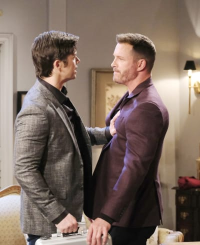 Xander Ruins Things for Nicole - Days of Our Lives