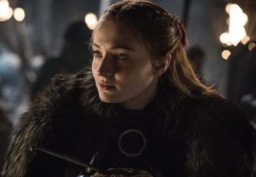 A Sansa Smile - Game of Thrones