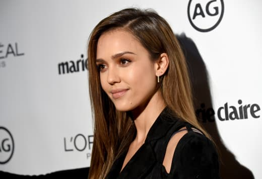 Jessica Alba Attends Event