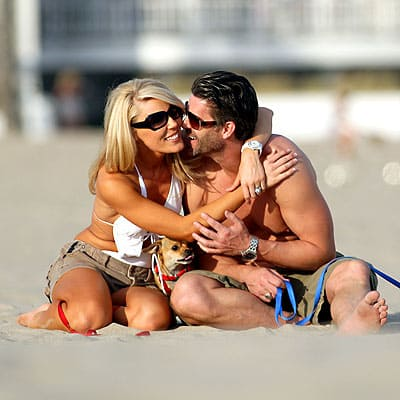Gretchen Rossi and Slade Smiley Pic