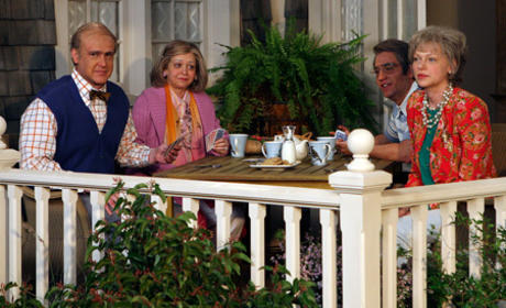 Karen and The Gang on the Porch