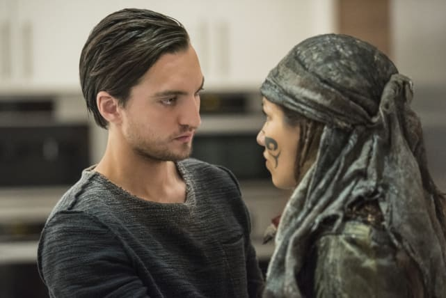 Murphy and Emori — The 100 Season 4 Episode 7