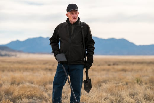 Mike Searches For Something - Better Call Saul Season 3 Episode 8