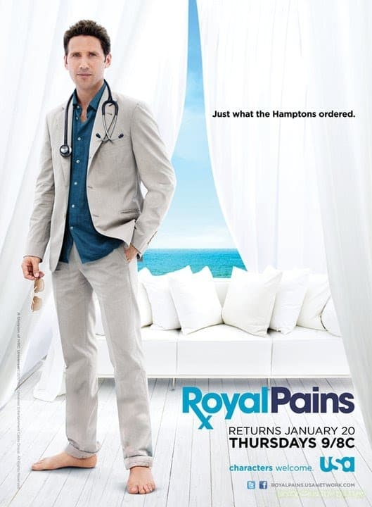 New Royal Pains Poster