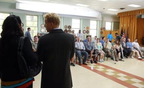 At the Veterans Hospital - Grey's Anatomy Season 11 Episode 3
