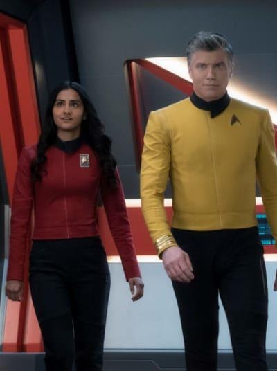 Ask Not: Pike Brings Sidhu Aboard - Star Trek: Discovery