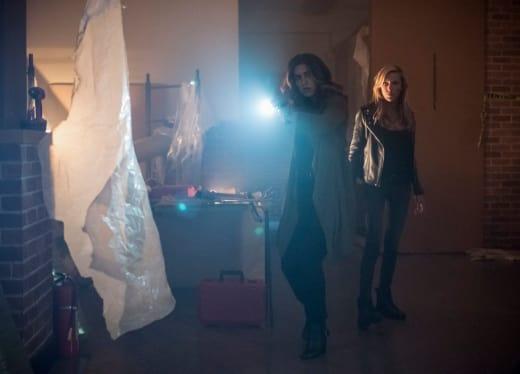 Gal Pals - Arrow Season 7 Episode 2