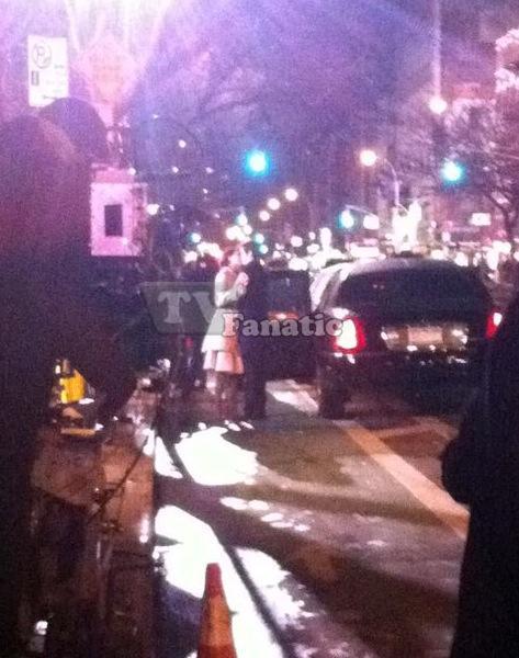 Dan and Blair Kissing on Gossip Girl!