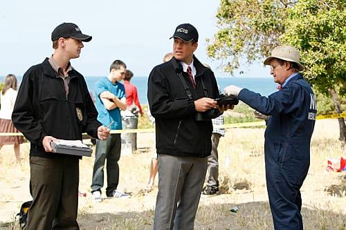 NCIS Team at the Crime Scene