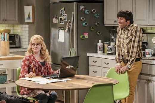 Howard is Stressed - The Big Bang Theory Season 10 Episode 6