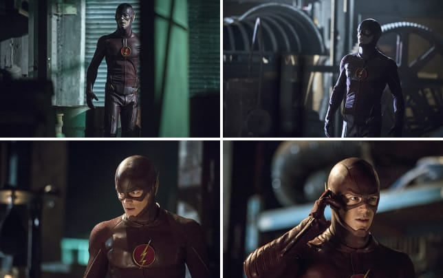 The flash is coming