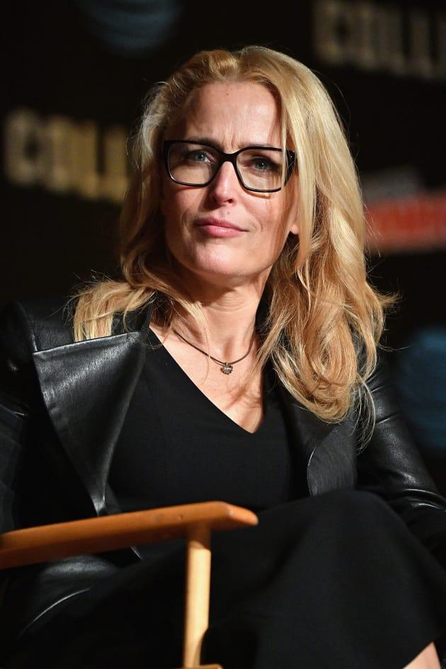 Gillian Anderson Attends Comic-Con