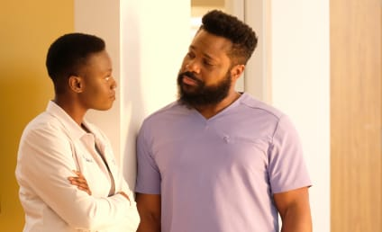 The Resident Photo Preview: Will Mina and AJ Confess Their Feelings in the Season Finale?!