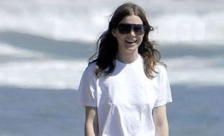 Ellen on the Beach