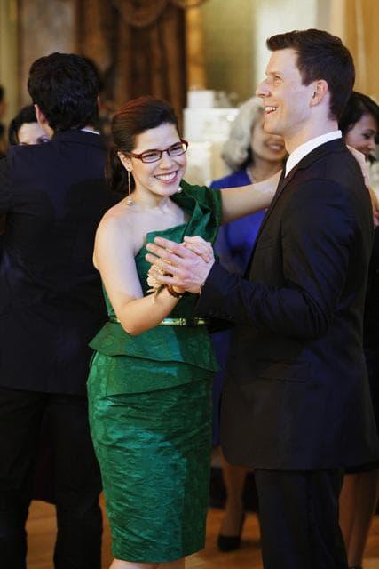 Daniel and Betty dance...