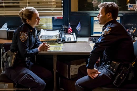 Jamie Struggles - Blue Bloods