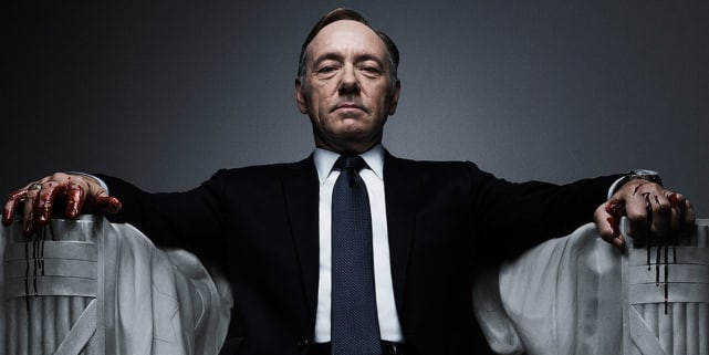President Frank Underwood, House of Cards