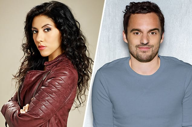 Rosa Diaz (Brooklyn Nine-Nine) and Nick Miller (New Girl)