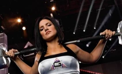 Gina Carano Cruchses American Gladiator Competition