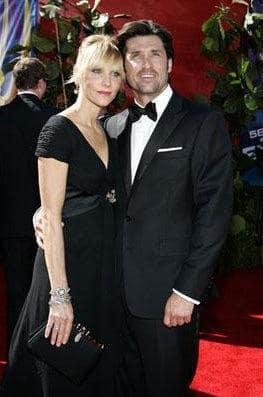Patrick & Jillian Dempsey at the Emmys