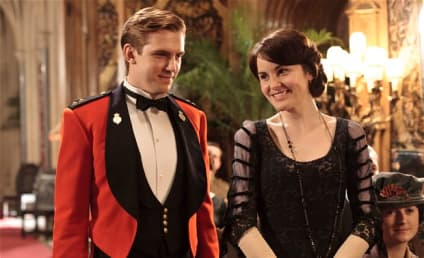 Dan Stevens: Out of Downton Abbey Season 4?