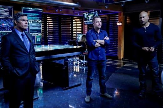 Seeking a Location - NCIS: Los Angeles Season 10 Episode 14
