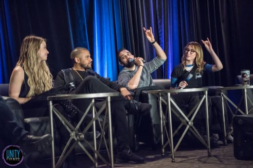 Chelsey Reist, Jarod Joseph, Sachin Sahel, and Jessica Harmon - Unity Days 2018 - The 100