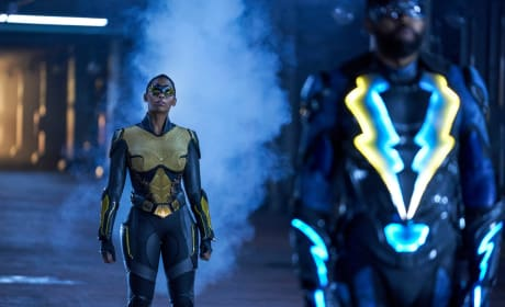 Superhero Code - Black Lightning