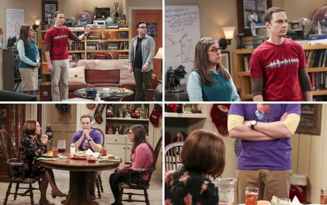 Amy and sheldon share the details the big bang theory s10e12