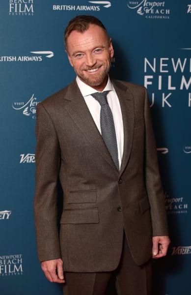 Richard Dormer Attends Newport Beach Film Festival