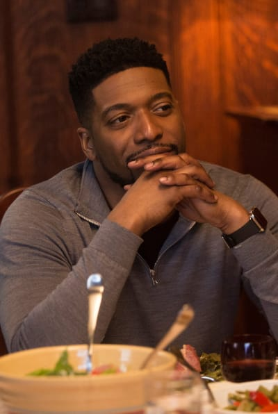 Family Dinner with Floyd - tall - New Amsterdam Season 1 Episode 22