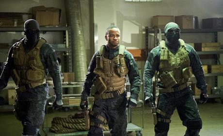 Ghost march - Arrow Season 4 Episode 20