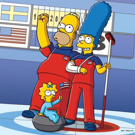 Simpsons Take the Gold