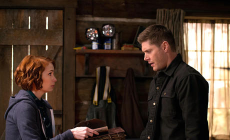 Charlie and Dean - Supernatural Season 10 Episode 18