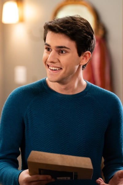 Nick Grins from Ear to Ear - Good Witch Season 5 Episode 5