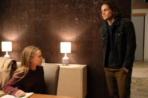 Bram and Gracie Talking - Colony Season 3 Episode 10