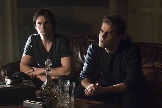 Team Salvatore! - The Vampire Diaries Season 7 Episode 7
