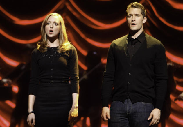 Emma and Will on Stage