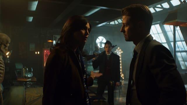 Gotham - Jim Gordan and Dr. Lee Thompkins