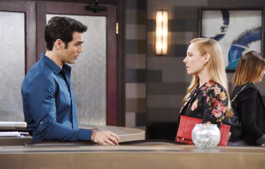 Dario Lies to Abigail - Days of Our Lives