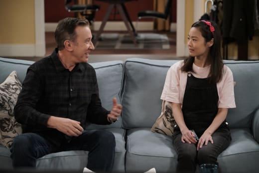 Mike and Jen Bond - Last Man Standing Season 7 Episode 11