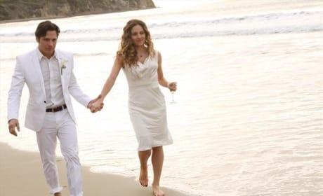 Romantic Beach Walk