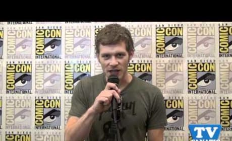 Joseph Morgan is a TV Fanatic!
