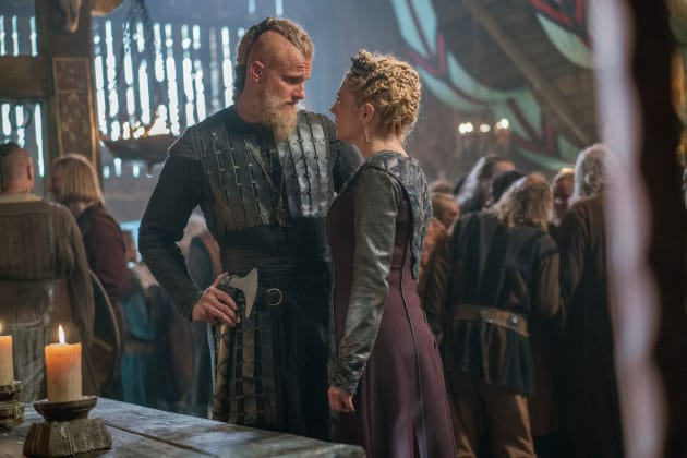 Bjorn Returns Home - Vikings Season 5 Episode 7