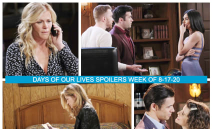 Days of Our Lives Spoilers Week of 8-17-20: A Long Awaited Return