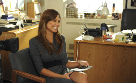 Vanessa Minnillo on 30 Rock