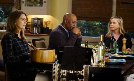 Dinner Table Conversations - Grey's Anatomy Season 13 Episode 18